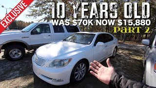 💯 UPDATE REVIEW - 2007 LEXUS LS460 LWB | PRICE 10 Years Later - Auto Vlog Channel
