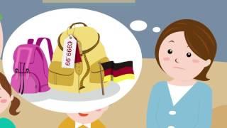 видео Школьный ранец для первоклассника