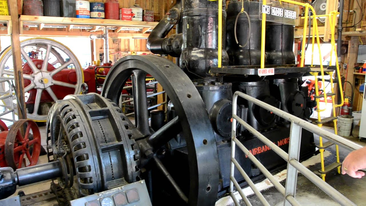 Fairbanks Morse 180 horsepower sel engine and generator
