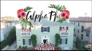 UCLA Alpha Phi Recruitment Video 2016