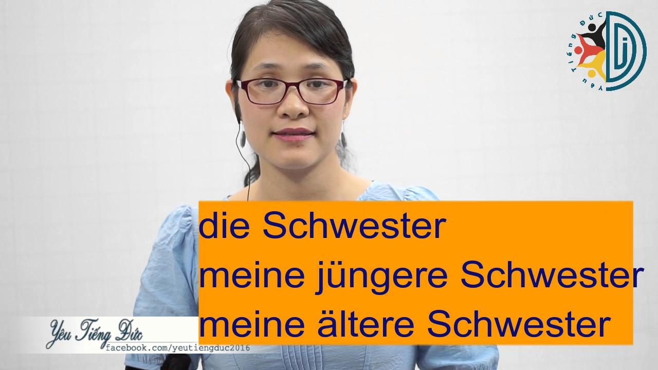 Học tiếng Đức cùng cô Thùy Dương - Bài 7: Verwandtschaft - Họ hàng, người thân trong gia đình