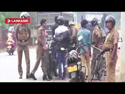 Tamil special police unit Action in Jaffna