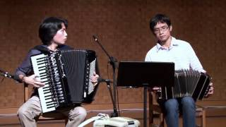 Bandoneon Accordion Jazz Duo- Autumn Leaves