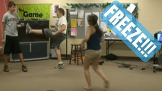 Freeze!!! (the Funniest Youth Group Icebreaker Game Ever!!!)