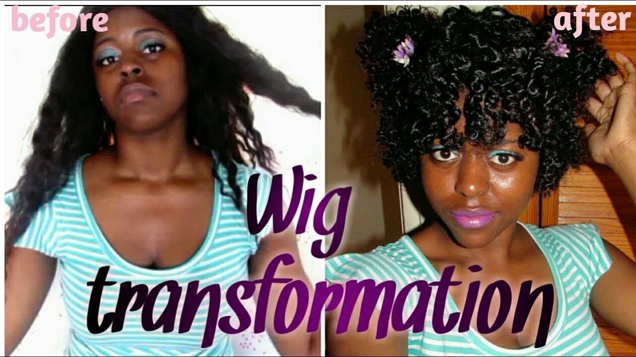Wig Transformation 76