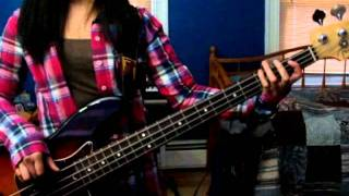 No Doubt - Spiderwebs bass cover