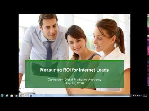 Senior Care: Measuring ROI for Internet Leads