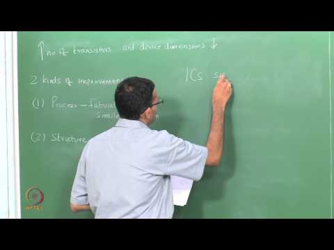 Mod-01 Lec-20 Semiconductor Manufacturing: Introduction