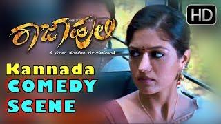Mr and Mrs Ramachari hero Yash and Chickanna Super Comedy in Bus - Rajahuli Movie