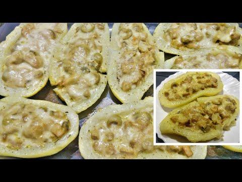 😋قوارب-البطاطا-المحشية-اللذيذة-|-barquettes-de-pommes-de-terre,-recette-facile-et-délicieuse-|💕
