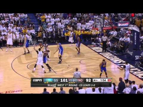 Golden State Warriors vs New Orleans Pelicans: Game 4 Highlights| Golden State Win!
