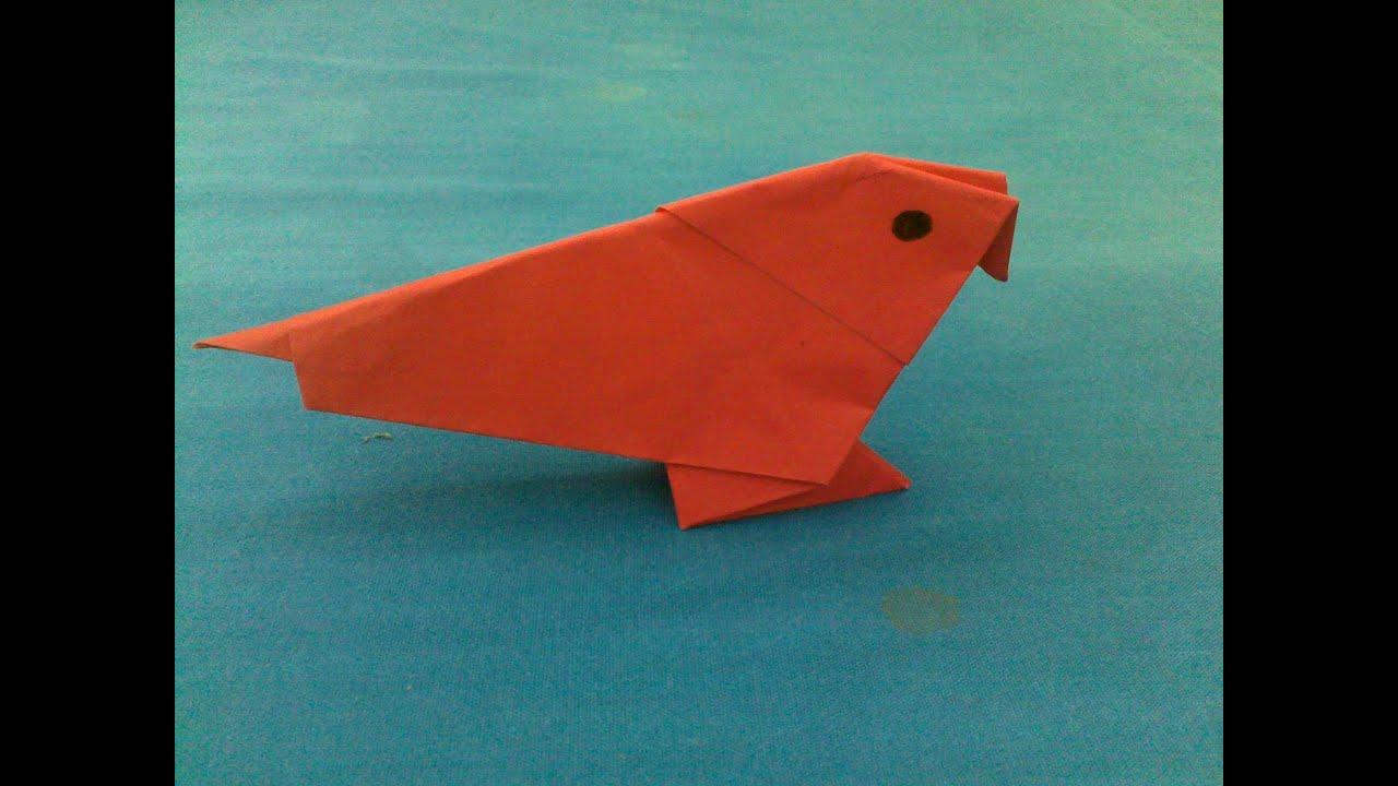 How to Make an Origami Bird | Origami Bird - YouTube - photo#23