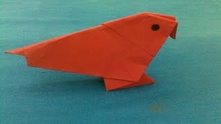 How To Make An Origami Bird | Origami Bird