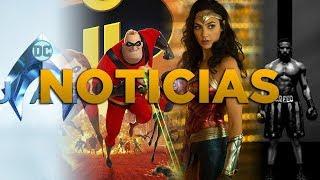 ¡MIX DE NOTICIAS! DC | MARVEL | CINE | WONDER WOMAN 2 | AQUAMAN | FRIKADAS