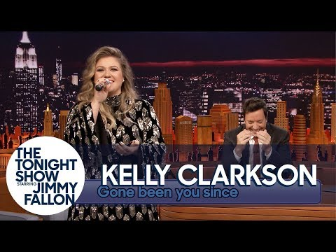 Kelly Clarkson Sings Since U Been Gone Gone Been U Since Backwards
