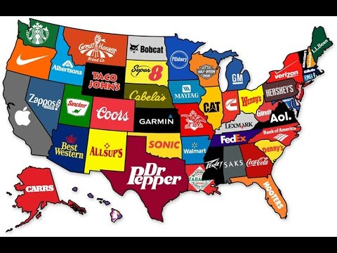 Top Companies Of Each U.S. State