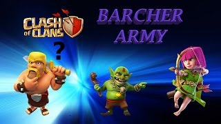 Clash Of Clans With MARIO SONIC 006 [Barcher Army With Green little Goblem Yippee]