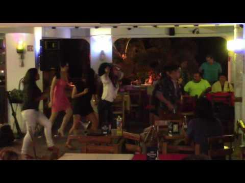 Late-Night Dancing At Bar Oceano Restaurant On The Malecon, Puerto Vallarta, Mexico (1/17) | #2