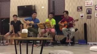 Giật mình trong đêm acoustic -Tuấn Hưng (cover by Cá Band)
