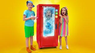 Katy y Max: una historia sobre el refrigerador