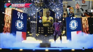 I PACKED 96 TOTY KANTE IN A SMALL PRIME ELECTRUM PACK!! FIFA 19