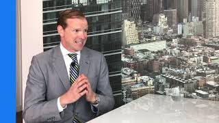 Jamie Covello interviewing James Nelson at Avison Young
