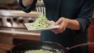 The Best Zucchini Noodle Alfredo