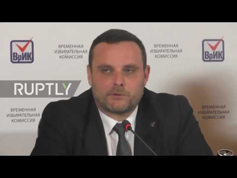 Ukraine: International observer praises 'transparent' east Ukrainian election preparations