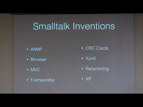 02 - Ralph Johnson - The Smalltalk Image: Past And Future