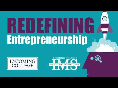 """""""Redefining Entrepreneurship"""" - James W. Harding Executive Speaking Series"""