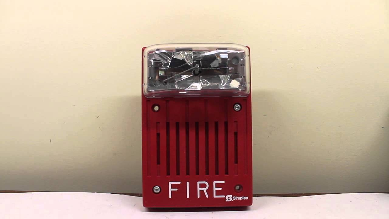 Simplex 4903-9147 Fire Alarm Overview/Test - YouTube