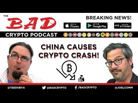 Breaking News! China Causes Crypto Crash!