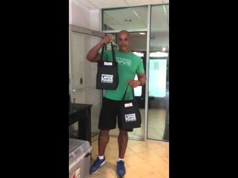 Fitness Love Foods Bag (Return Policy)