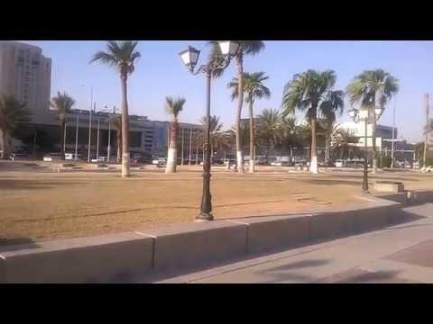 Burning (under the sun) in Qatar