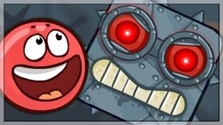 Red Ball 4 Gameplay/Walkthrough (Full Volume 3 with Boss Fight)