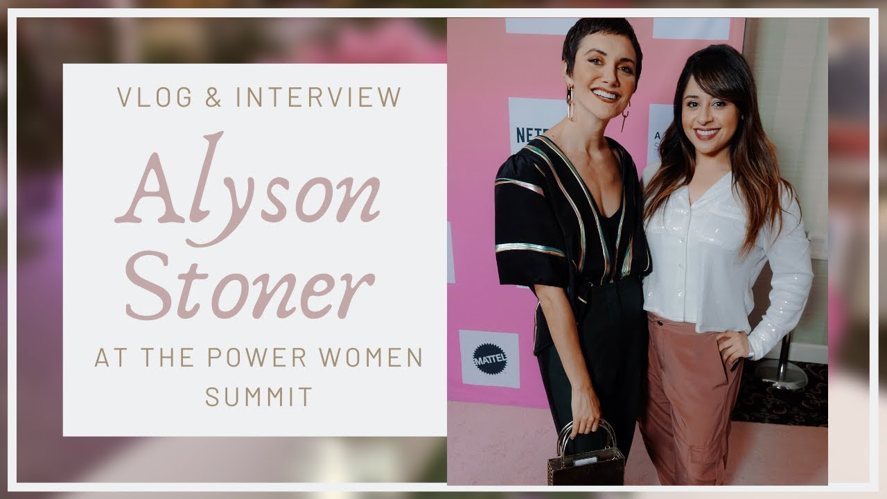 Alyson Ray Video catching up with alyson stoner! (video) - bravely daily