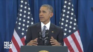 Watch President Obama s full national security speech from Tampa
