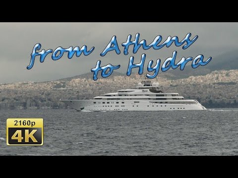 A Cruise from Athens to Hydra - Greece 4K Travel Channel
