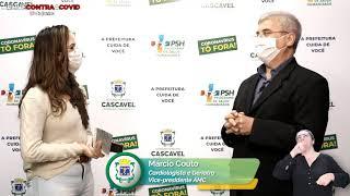 #LiveContraaCovid #14 | Marcio Couto - Vice-presidente da AMC