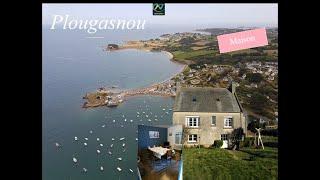Location Vacances Maison Plougasnou - Finistère Vue panoramique - A deux pas de la plage et du port