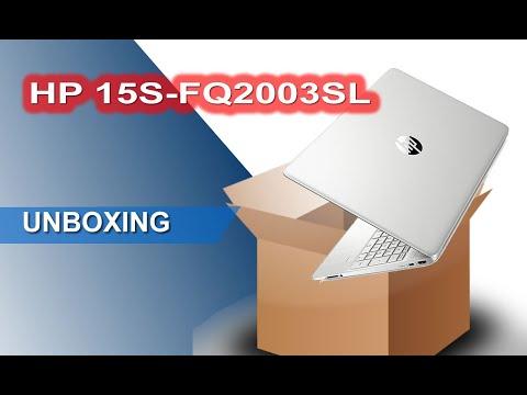 Unboxing HP 15S-FQ2003SL Notebook 15.6 Pollici Intel i7 SSD 512 gb Ram 8 gb, Windows 10 home