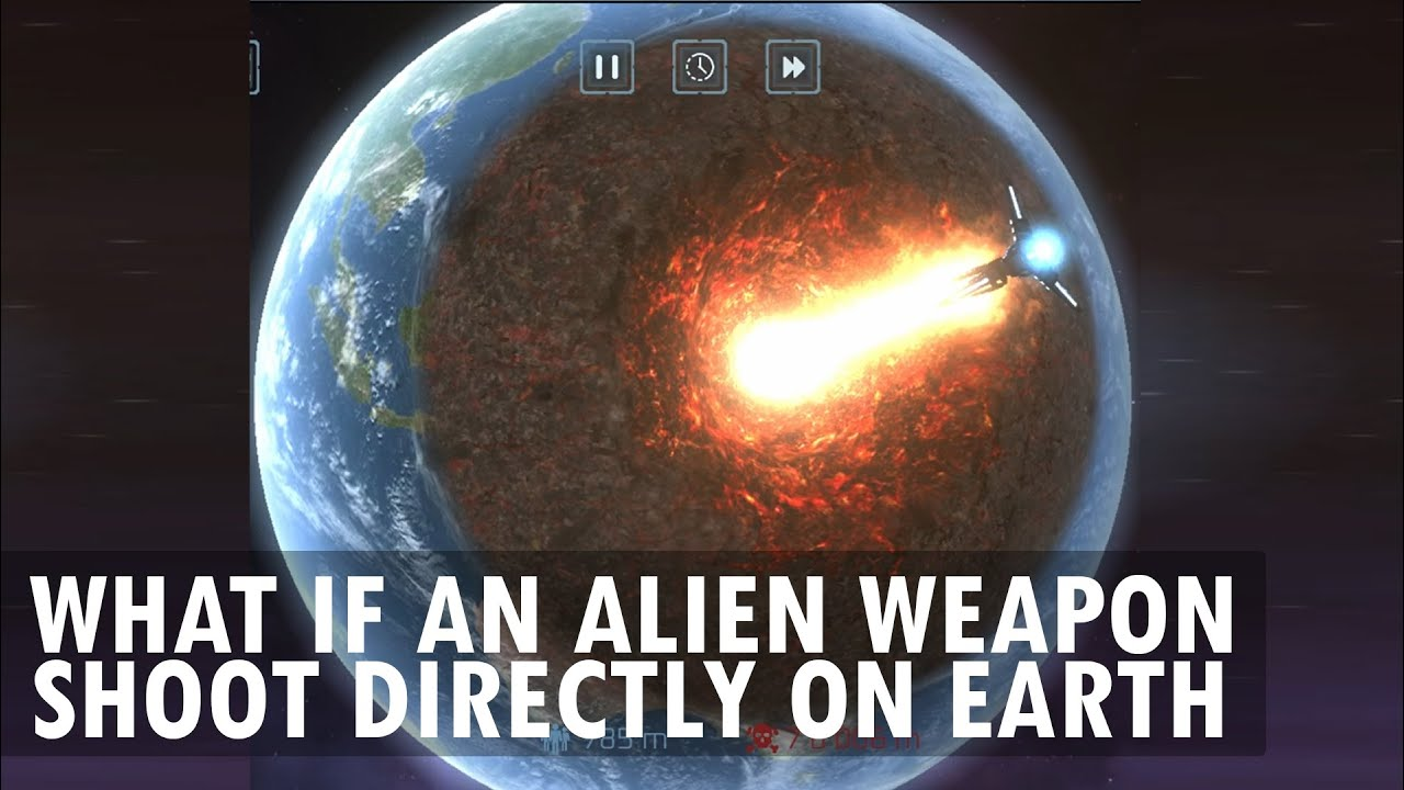 What If Earth was attacked using an Alien Weapon?