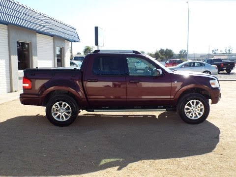 2007 Ford Explorer Sport Trac Limited Leather Loaded 15440