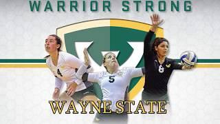 2018 Wayne State University Volleyball Hype Video