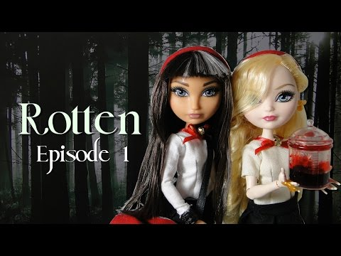 """Ever After High Stopmotion """"Rotten"""" (Episode 1) *FOR MATURE AUDIENCES*"""