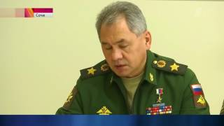 Российские военные начали масштабную операцию против террористов в Сирии (15.11.2016)