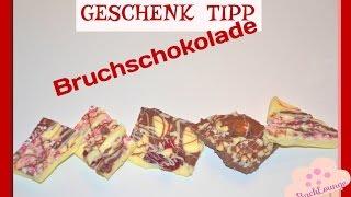 DIY / Geschenk Tipp  / Bruchschokolade /  schnell und einfach gemacht / BackLounge 2015