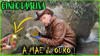 EM BUSCA do OURO NATURAL na Pedra MÃE do OURO / O Veio de Ouro