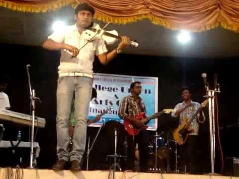 Vivekanandan's violin performance 1