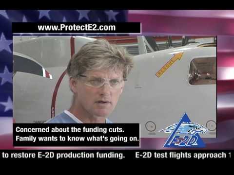 Northrop Grumman employee Chris Treutle talks about the importance of the E2D Advanced Hawkeye